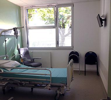 Hôpital de jour - chambre