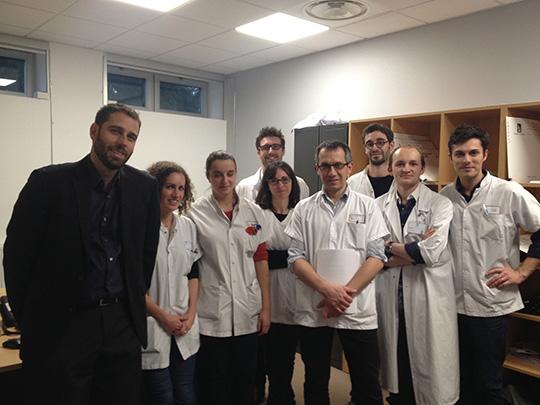 Participants d'une RCP au CRIOAc Lyon lors d'une journée d'hôpital de jour pluridisciplinaire
