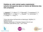 Ostéites du volet crânien après craniectomie : cohorte rétrospective dans un Centre de Référence des IOA complexes