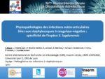 Physiopathologies des infections ostéo-articulaires liées aux staphylocoques à coagulase-négative : spécificité de l'espèce S. lugdunensis