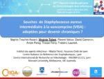 Souches de Staphylococcus aureus intermédiaire à la vancomycine (VISA) : adaptées pour devenir chroniques ?