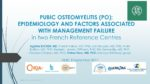 Pubic Osteomyelitis (PO): Epidemiology and factors associated with management failure in two French reference centres