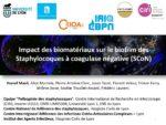 Impact des biomatériaux sur le biofilm des Staphylocoques à coagulase négative (SCoN)