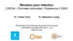 Révision pour infection : CRIOAc / Données nationales / Expérience LYSKS