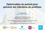Optimisation du patient pour prévenir les infections de prothèse