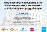 Actualités pharmaceutiques dans les infections ostéo-articulaires : antibiothérapie et phagothérapie