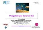 Phagothérapie dans les IOA
