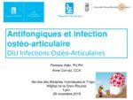 Antifongiques et infection ostéoarticulaire