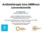 Antibiothérapie hors AMM/non conventionnelle