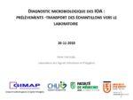 Diagnostic microbiologique des Infections Ostéo-Articulaires : prélèvements – transport des échantillons vers le laboratoire