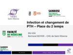 Infection et changement de PTH (place du 2 temps)