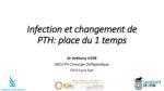 Infection et changement de PTH (place du 1 temps)