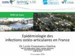 Epidémiologie des infections ostéo-articulaires en France