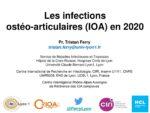 Les infections ostéo-articulaires (IOA) en 2020