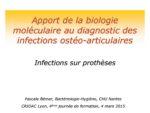 Apport de la biologie moléculaire dans le diagnostic des IOA