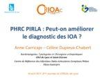 PHRC PIRLA : peut-on améliorer le diagnostic des IOA ?