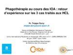 Phagothérapie au cours des IOA : retour d'expérience sur les 3 cas traités aux HCL