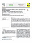 Adherence to oral antibiotic therapy in patients with bone and joint infection: A pilot study
