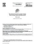 Recommandations pour la pratique clinique : Prise en charge du pied diabétique infecté (texte court)